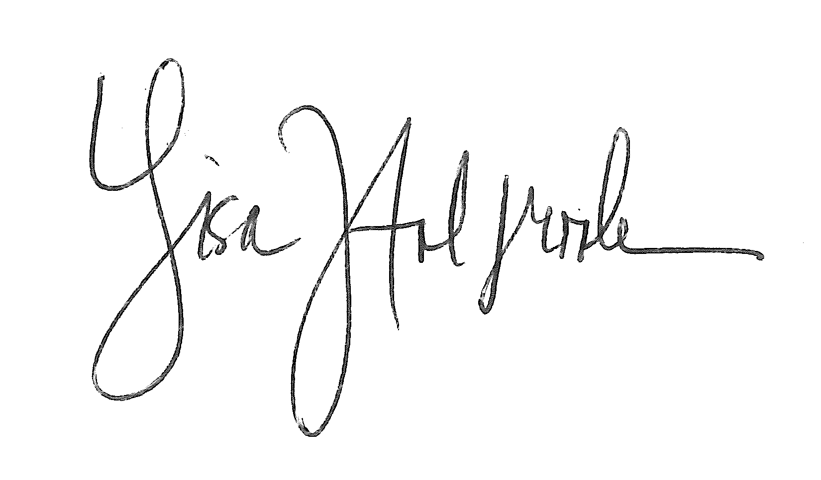 Lisa Holbrook Signature